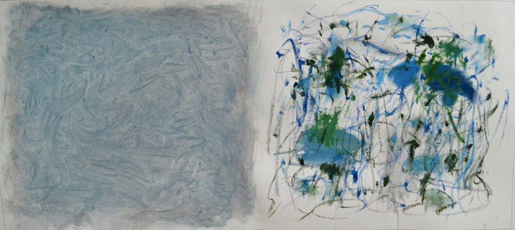 """Being Series - study #1, 24""""x54"""", 2016"""